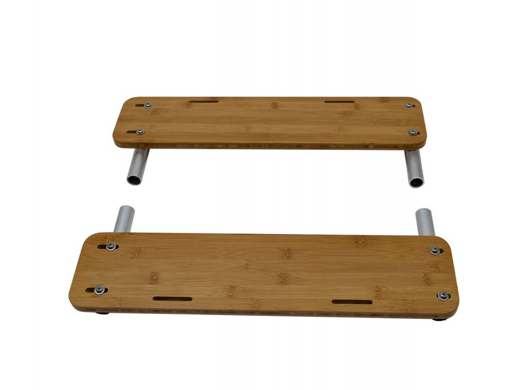 KOMBI Bamboo Boards - Fußablage (Paar)