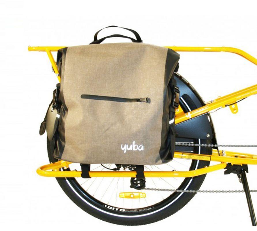 Wetterfeste Fahrradtasche für den Alltag - Yuba Baguette