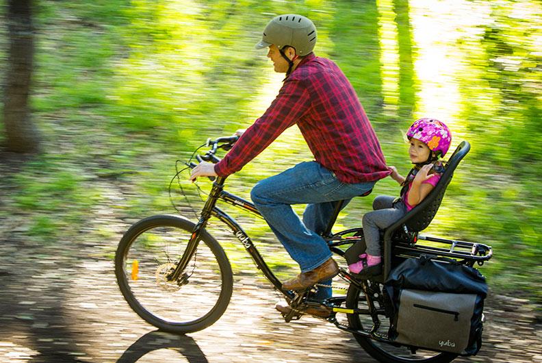 Lastenrad Kindertransport: 1 Kind