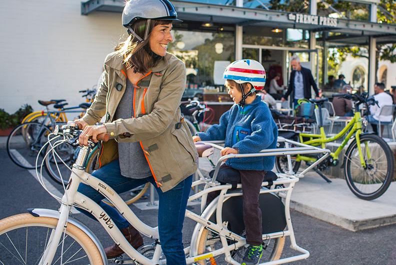 Yuba Boda Boda V3 Kindertransport mit Fahrrad