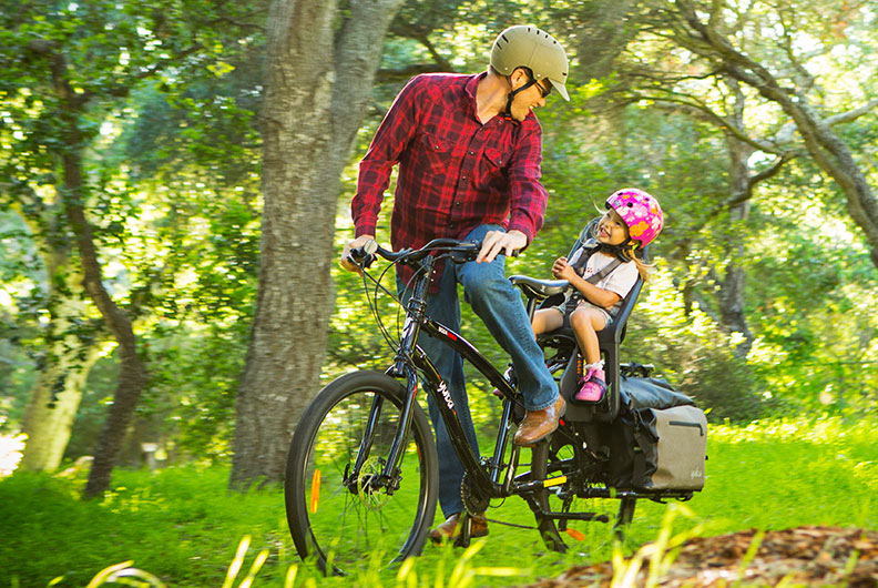 Yuba Boda All-Terrain Kindermitnahme auf Fahrrad