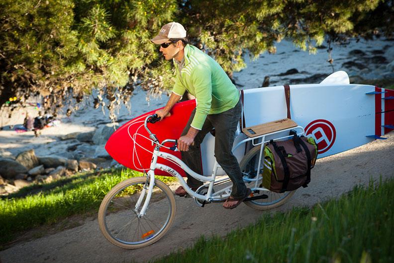 Transportrad für Gepäck und Einkäufe